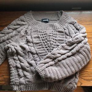 Super soft taupe sweater